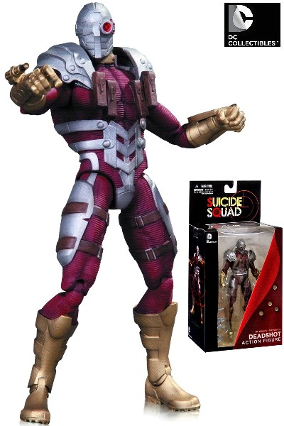 DC Comics The New 52 Super Villains Deadshot Action Figure